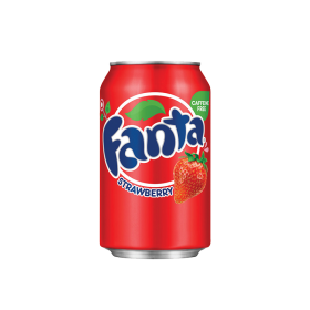 American Imported Fanta Strawberry 355ml