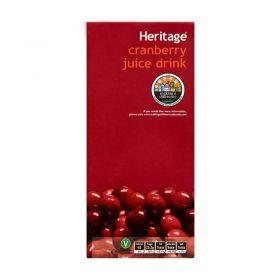 Heritage Cranberry Juice Drink 1 Litre