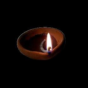 Seelans Mud Lamp- Diya - Man Vilakku
