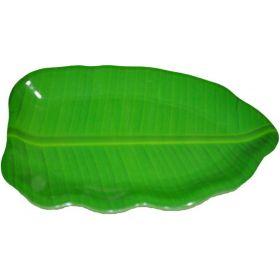Seelans Superstore Banana Leaf Plastic Plate