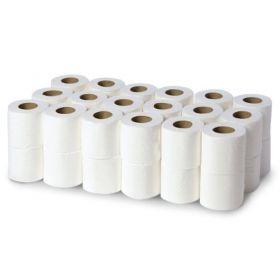 Economy White 2ply Toilet Tissue Rolls