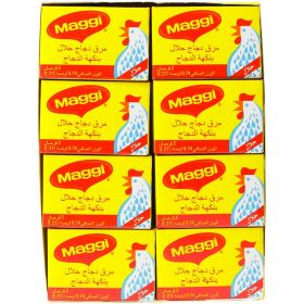Maggi Halal Chicken Flavored Bouillon 24 X 21g (504g)