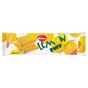 Munchee Lemon Puff 200g biscuits