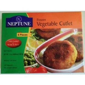 Neptune Frozen Vegetable Cutlet 400g