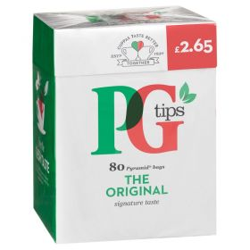 PG Tips Tea (Pack of 80)