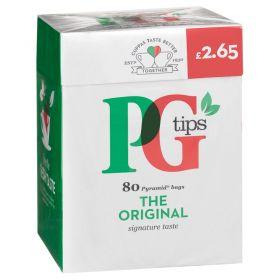 PG Tips Tea (Pack of 80)