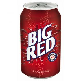 Big Red Soda 12-Pack Cans - 12fl.oz (355ml)