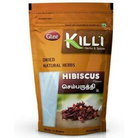 Seelans Superstore, Gtee Killi Herbs & Spices - Hibiscus Flower 100g