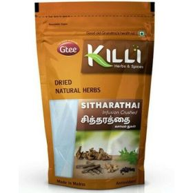 Seelans Superstore, Gtee Killi Herbs & Spices, Sitharathai Infusion Crushed 100g