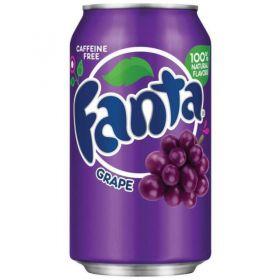 American Imported Fanta Grape 355ml