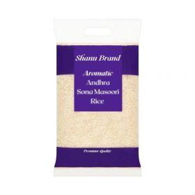 Shanu Brand Andhra Sona Masoori Rice