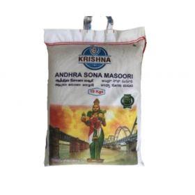 Krishna Brown Sona Masoori Rice 10KG