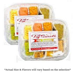 Taj Mixed Sweets Fresh Indian Sweets 500g