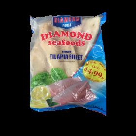 Diamond Frozen Seafoods Tilapia Fillet 1 KG