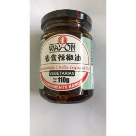 Way-On Traditional Chilli Infused Oil - Vegetarian  110G