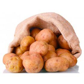 Fresh White Potato 20 Kg Bag