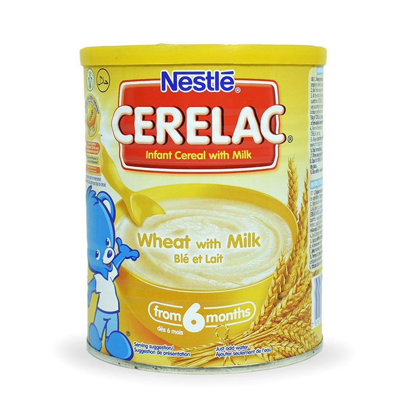 Nestle Cerelac Wheat with Milk 400g Pack of 4